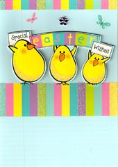 Special Easter Wishes Cute Chicks Easter Card
