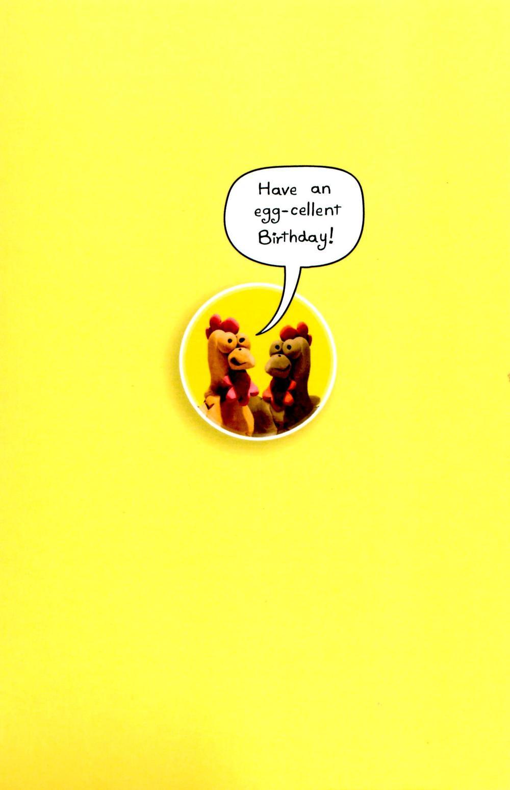 funny sneezing chicken birthday card