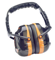 Beeswift QED31 Ear Defenders Black/Orange SNR31