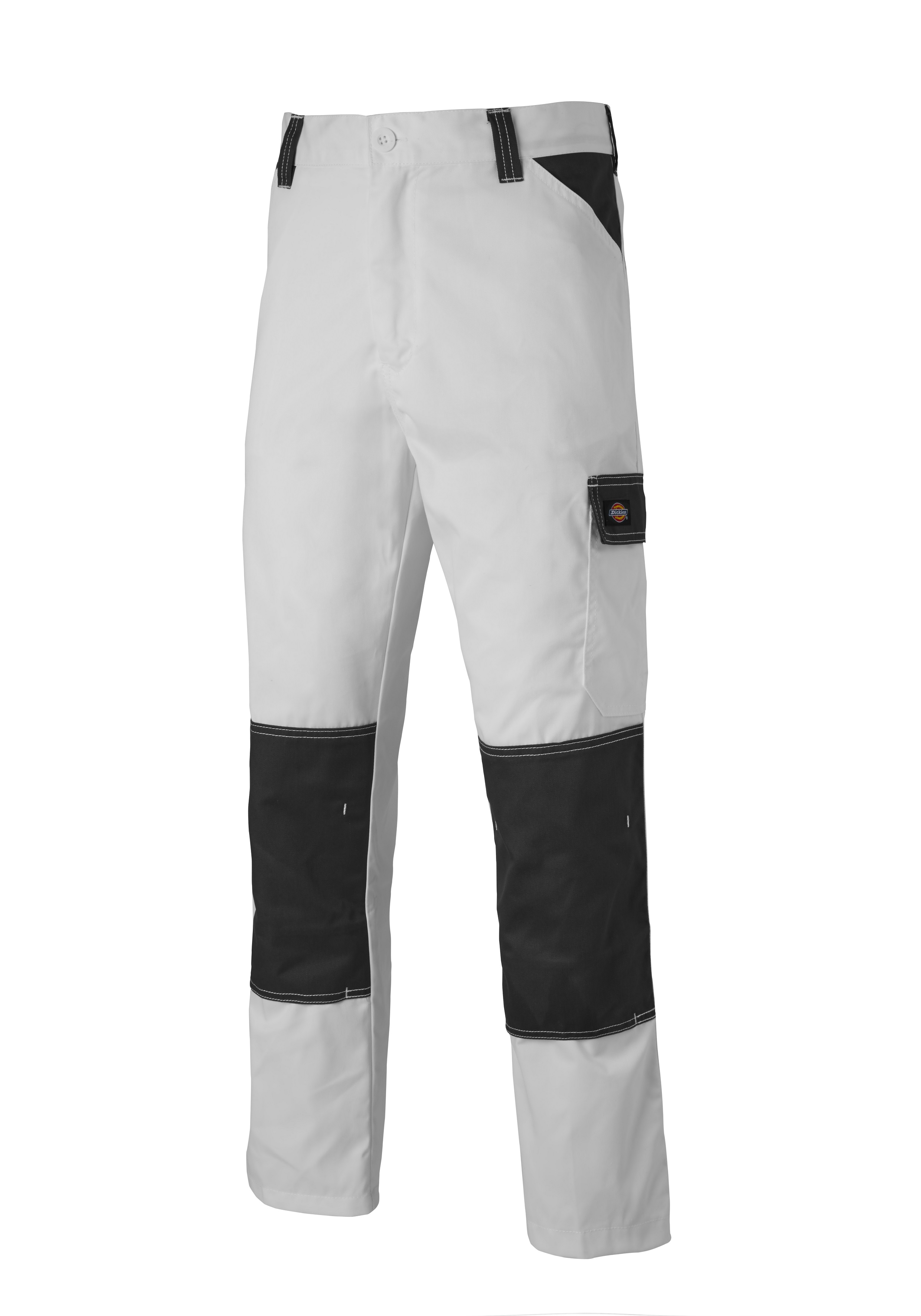 80774af9fb5947 Dickies ED247 Painters Trousers White Grey