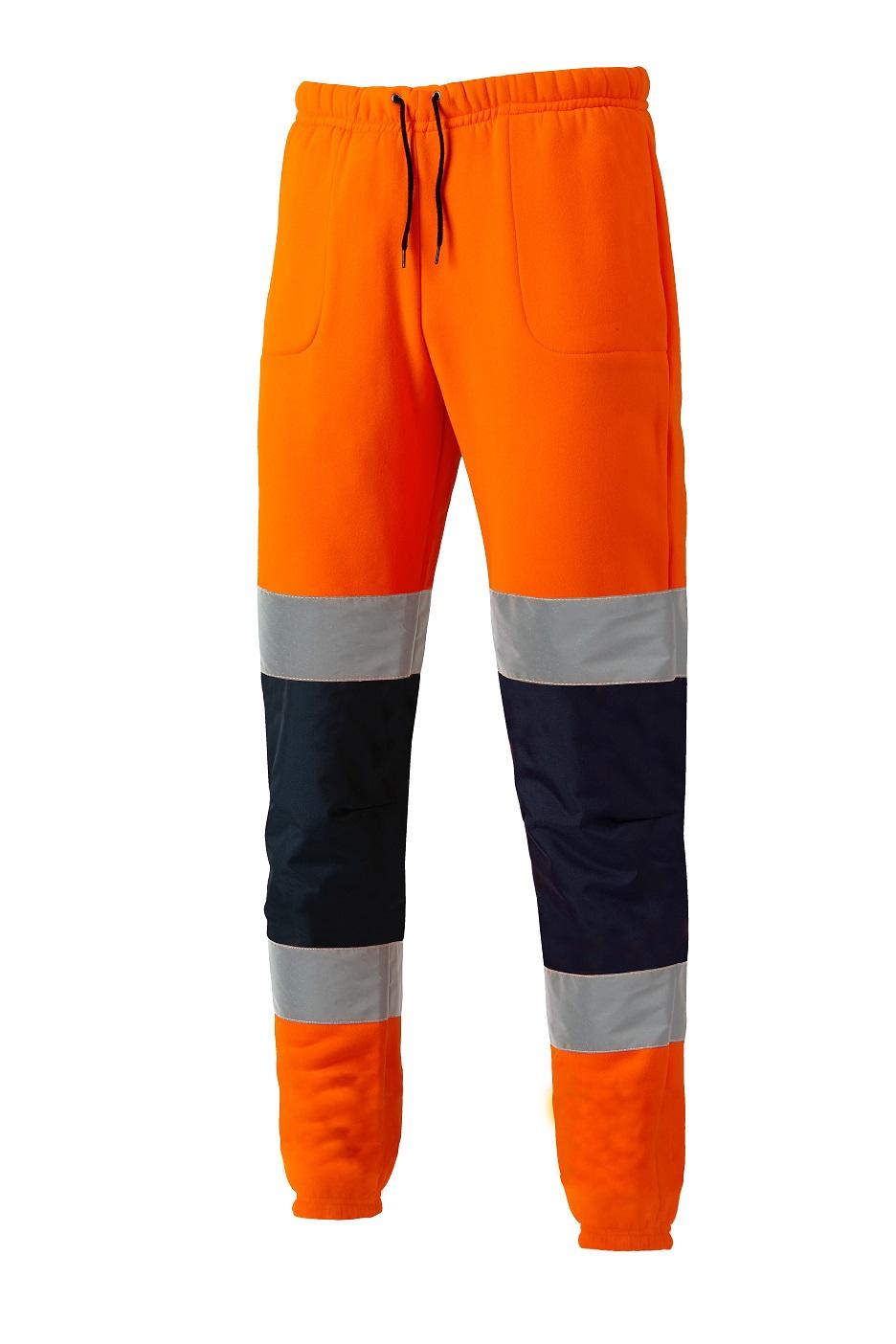 Dickies Hi Viz sicurezza Jogger SA2008 sicurezza Pantaloni Jogging PANTALONE GIALLO//ARANCIONE