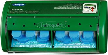 Click Medical Dispenser with 70 Blue Plasters