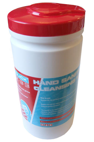 Hand Sanitising Cleansing Wipes 200 Dispenser Thumbnail 1