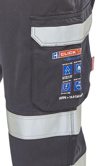 Click Arc Compliant Coveralls Fire Retardant Thumbnail 4