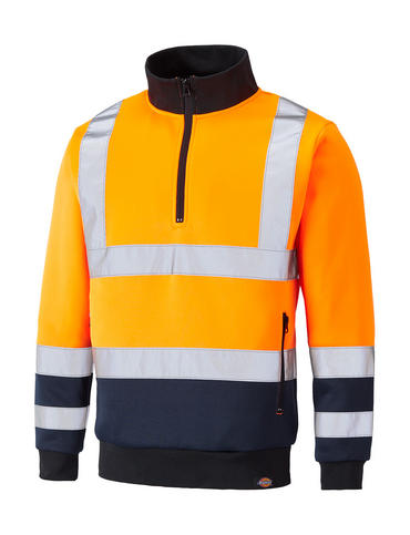 Dickies Hi Viz Two Tone Sweatshirt SA22092 Thumbnail 2