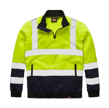 Dickies Hi Viz Two Tone Sweatshirt SA22092 Thumbnail 3