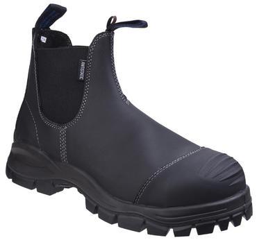 Blundstone 910 Safety Dealer Boots Black