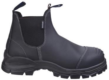 Blundstone 910 Safety Dealer Boots Black Thumbnail 2