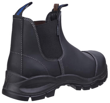 Blundstone 910 Safety Dealer Boots Black Thumbnail 3