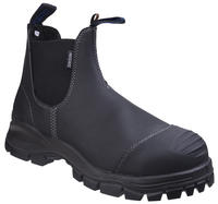 Blundstone 910 Safety Dealer Boots Black