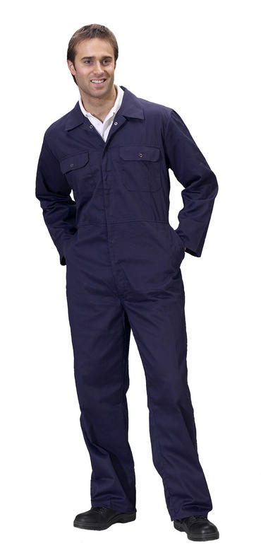 Click Polycotton Boilersuit  Thumbnail 1