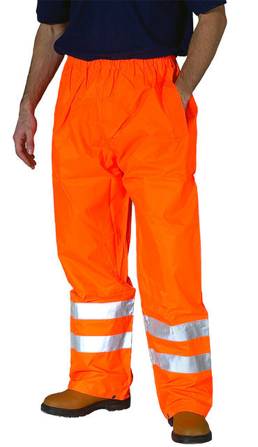 Hi Viz Waterproof Over Trousers Thumbnail 2