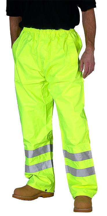 Hi Viz Waterproof Over Trousers