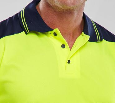 Hi Viz Polo Shirt  Thumbnail 4