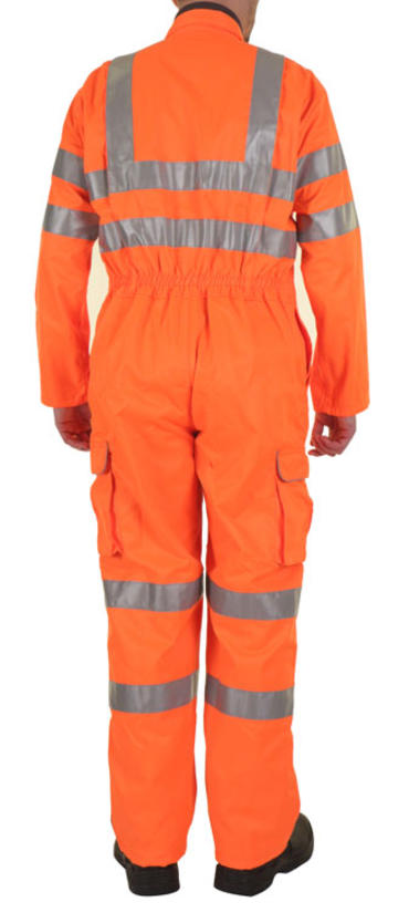 Be Seen Hi Viz Railspec Coverall  Thumbnail 4