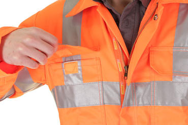 Be Seen Hi Viz Railspec Coverall  Thumbnail 6