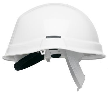 Scott HC710 Safety Helmet Reduced Peak White