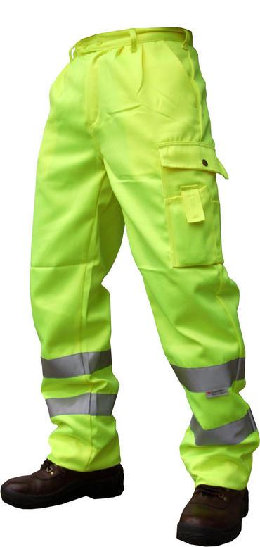 Hi Viz Polycotton Trousers  Thumbnail 2