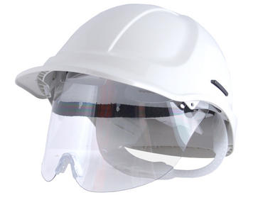 Scott Protector Hard Hat with Specs