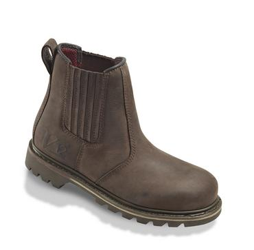 V12 Rawhide Leather Dealer Safety Boots