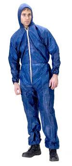 Click Once Disposable Suit Blue 10 Pack