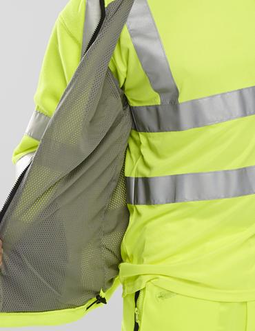 Be Seen Hi Viz Fleece Jacket  Thumbnail 3
