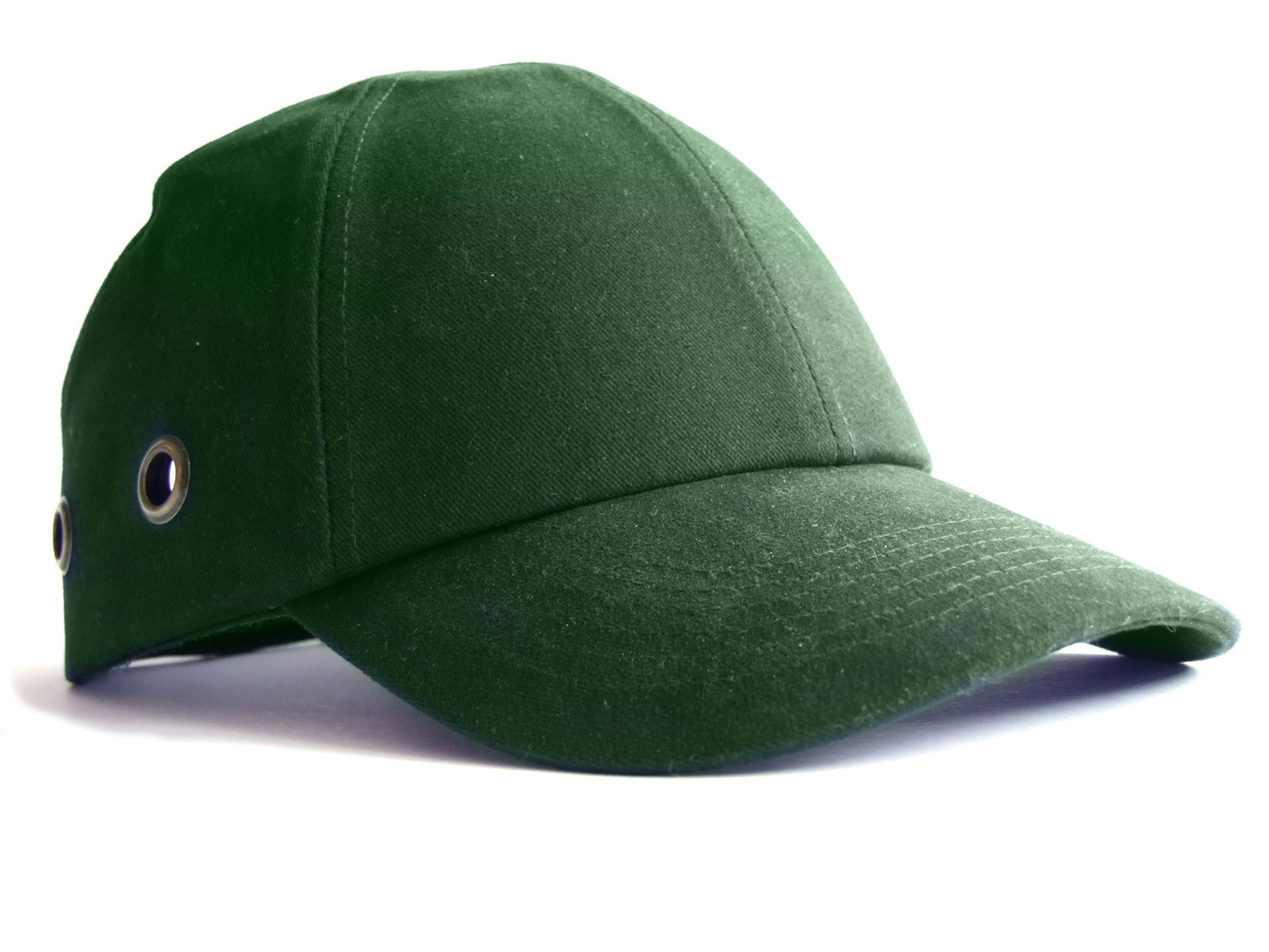 a917b42916b0b Details about Safety Baseball Cap Hard Hat Bump Cap Green Vented Velcro  Fastening Adjustable