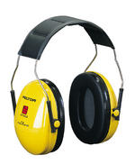 Peltor Optime One Ear Defenders Headband