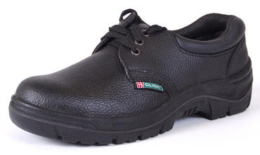 Click Leather Safety Work Shoes