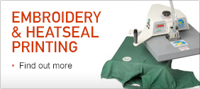 Embroidery & Heatseal Printing