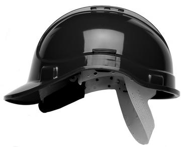 Scott HC300 Black Vented Safety Helmet