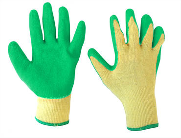 Green Grip Work Gloves 10 Pair Pack
