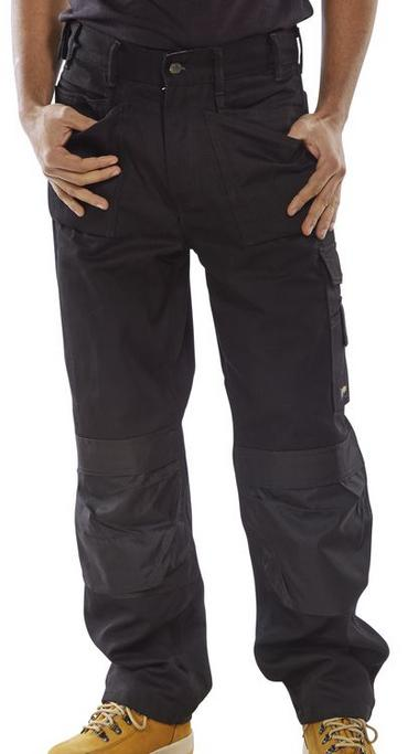 Click Premium Multi Pocket Work Trousers  Thumbnail 3