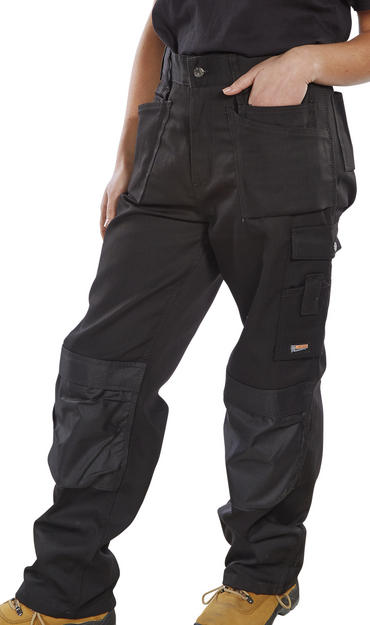 Click Premium Multi Pocket Work Trousers  Thumbnail 5