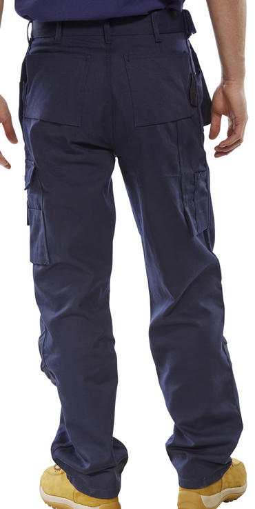 Click Premium Multi Pocket Work Trousers  Thumbnail 8
