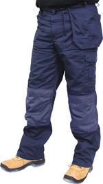 Click Premium Multi Pocket Work Trousers