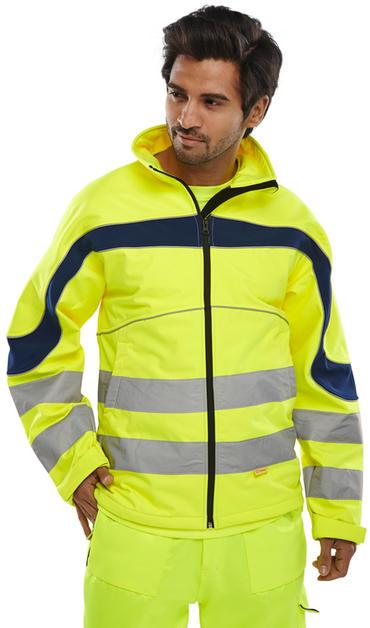 Eton Softshell Hi Viz Jacket