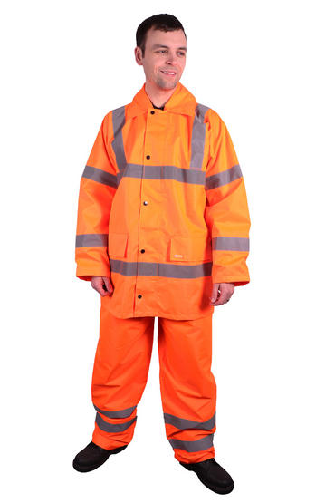 Hi Viz Waterproof Suit Thumbnail 2