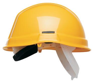 Scott HC710 Reduced Peak Safety Helmet Yellow