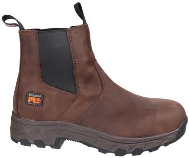 Timberland Pro Workstead Safety Dealer Boots Brown Thumbnail 2