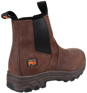 Timberland Pro Workstead Safety Dealer Boots Brown Thumbnail 5