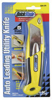 Quickblade Auto Reload Utility Knife Carded