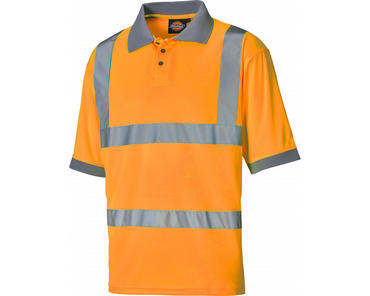Dickies Hi Viz Polo Shirt SA22075 Thumbnail 1