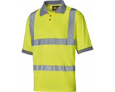 Dickies Hi Viz Polo Shirt SA22075 Thumbnail 2