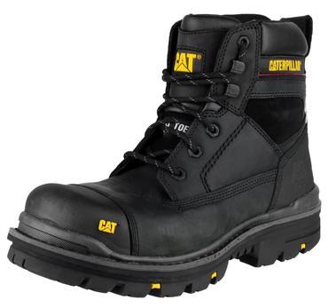 CAT Gravel Safety Boots Black Thumbnail 5