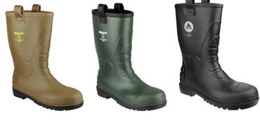 Amblers PVC Safety Rigger Boots