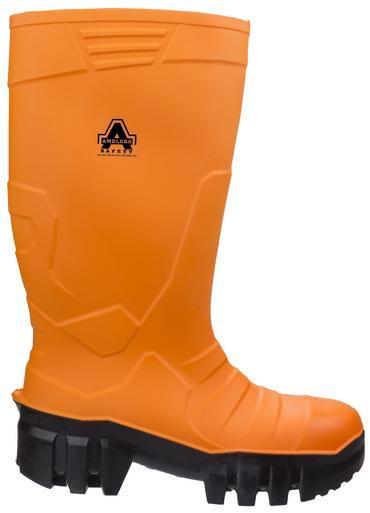 Amblers Full Safety Welly Orange PU