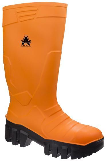 Amblers Full Safety Welly Orange PU Thumbnail 2