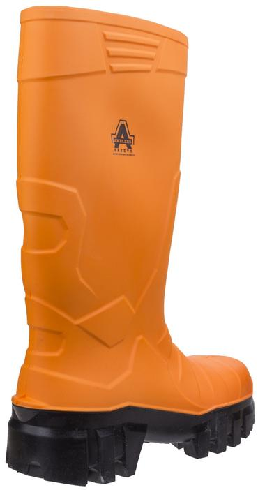Amblers Full Safety Welly Orange PU Thumbnail 3