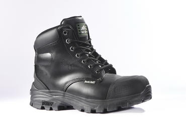 Rockfall Ebonite Safety Boots Black RF10 Thumbnail 1